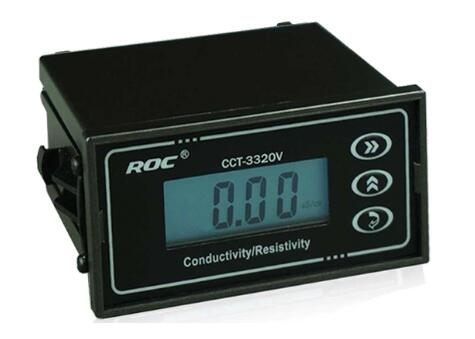 BRAND ROC Online Conductivity Monitor Tester METER Analyzer Controller 0-2000us/cm ATC hp9800 pc usb port 4500w 85v 110v 220v 265v ac 20a electric power energy monitor tester watt meter analyzer with socket output