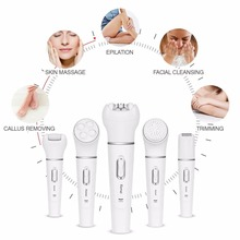 5 in 1 Electrical Deep Facial Cleansing Gadgets Set
