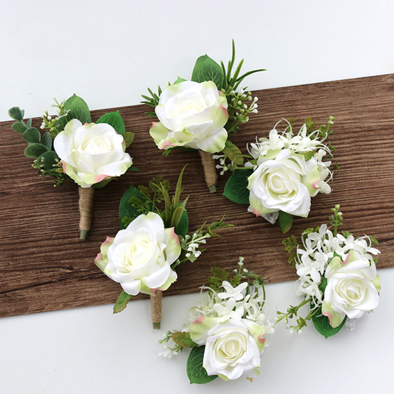 wedding corsages boutonnieres  (1)