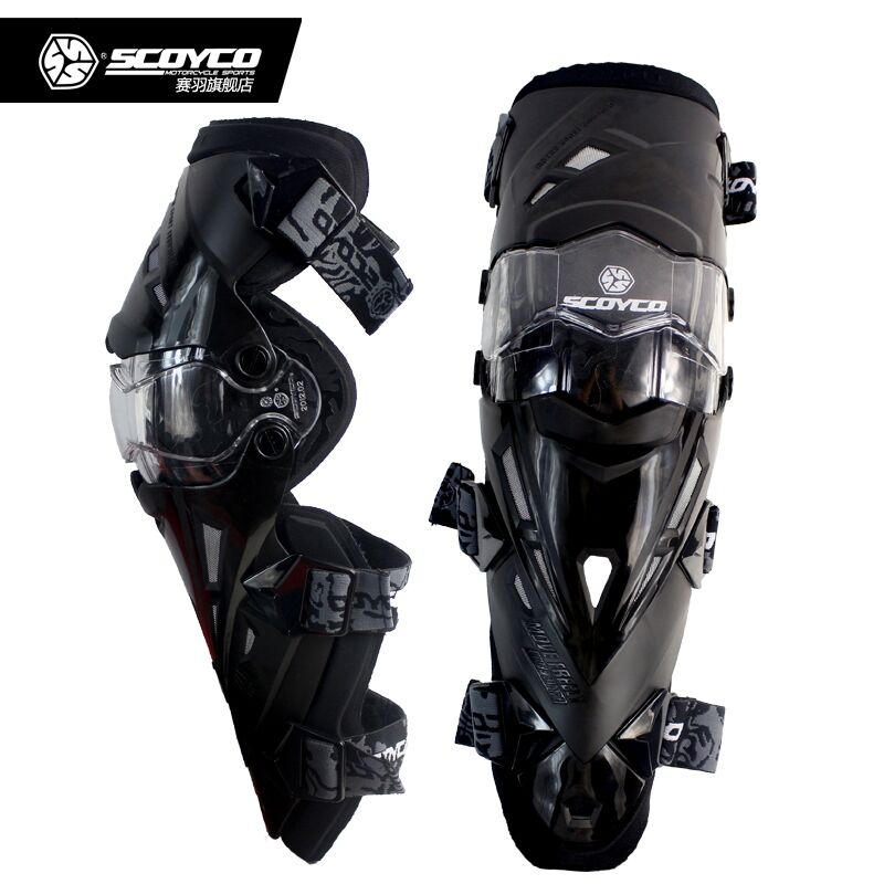 Scoyco K12 Moto genouillère protectrice Vélo De Protection Genouillères