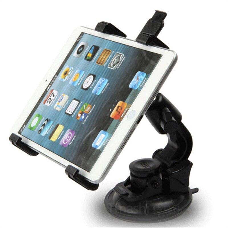imágenes para Teléfono del coche grande lechón sostenedor del parabrisas para el samsung galaxy tab gps navigator titular de montaje para ipad 2/3/4 5 mimi auto Tablet