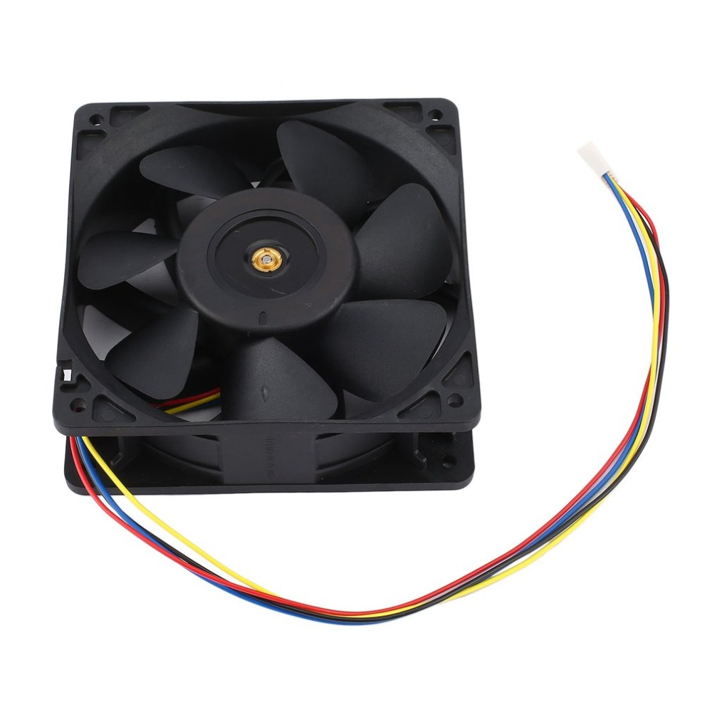 7500 rpm DC12V 5.0A minero ventilador para Antminer Bitmain S7 S9 4-Pin conector Brushless reemplazo refrigerador bajo ruido