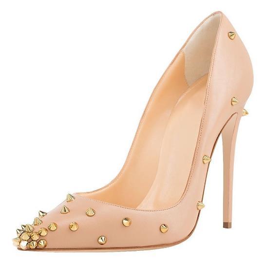 Sexy Slip As Mariage Cloutés Picture as Bout Offre Haute Femme Pointu Spéciale 45 Chaussures Taille Printemps Rivet Talon Pompes 2019 Picture Sur De 34 0PgZnR0q