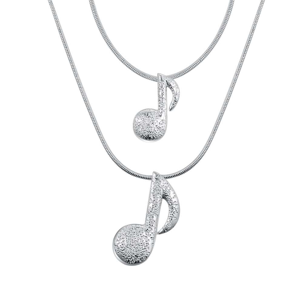 70ff2a37bda1 ②Plateado plata al por mayor encanto jewelrys Collar