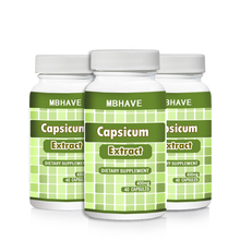3 bottles Capsicum extract 400mg цена