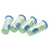 Dentallabor Micro Applikatoren Einweg Pinsel 2,0mm Größe Tipps Grüne Farbe 400 stücke Dental Material Großhandel Schnelles Freies Verschiffen