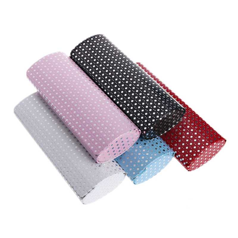 Hard Glasses Case Spectacle Box Eyeglasses Case For Women Iron Sheet Optical Bag Myopia Box Oval Magnet Eye Reading Handmade Box