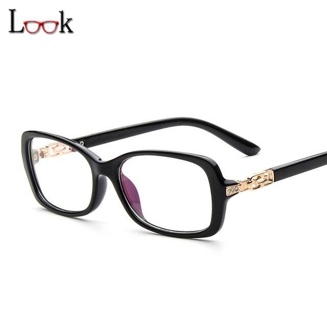 ba747a3ac 2018 Nova Marca Mulheres Óculos Ópticos Oculos de grau Diamantes Do Vintage  Vidros do Olho Quadros
