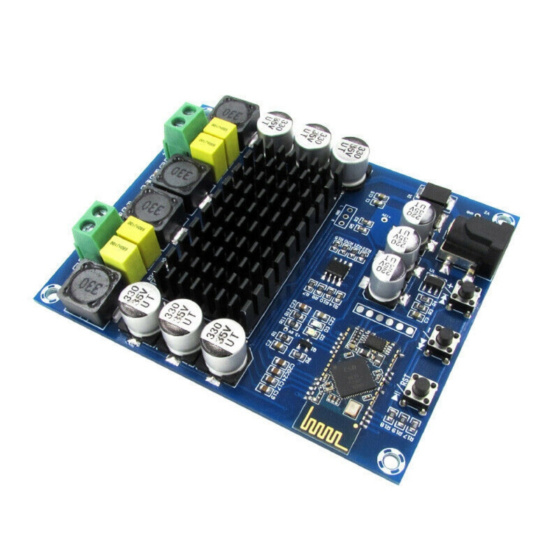 XH-M548 Bluetooth Dual Channel <font><b>120W</b></font> Digital Power <font><b>Amplifier</b></font> Board TPA3116D2 image