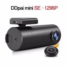 Последним в исходном ddpai мини автомобильный видеорегистратор wifi умный автомобиль камера fhd 1296 P 1080 P ночного видения даш cam recorder беспроводные видеокамеры