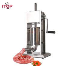 3L/5L/7L Sausage Filler Meat Filling Machine Manual Stuffer Commercial