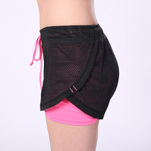 CHLEISURE Short for Workout / Sports with Net double layered