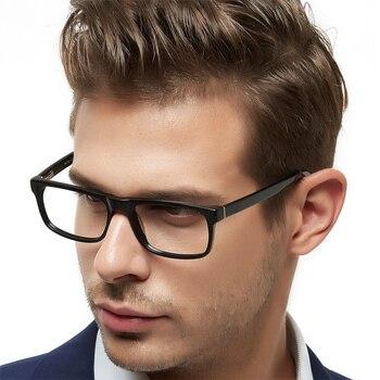 Gafas graduadas de acetato para hombres, montura de gafas ópticas para hombres, gafas graduadas para miopía, gafas transparentes para mujeres, MARE AZZURO BARVI