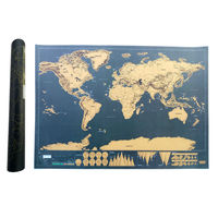 Scratch Map Travel Edition Journal Traveler Vacation Log Deluxe Scratch Off Map Personalized World Map Poster