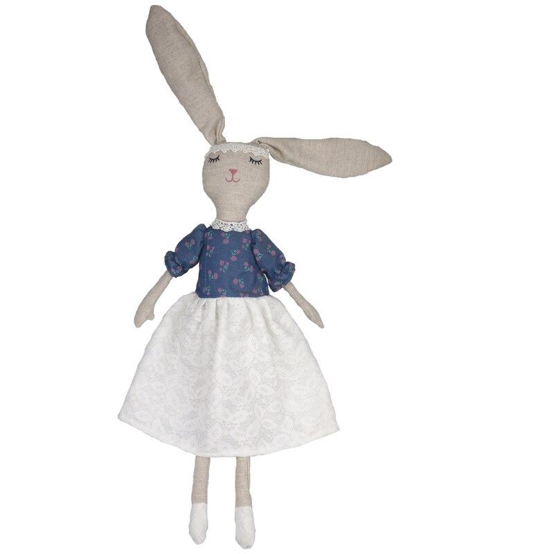 Милый Пасхальный кролик 80 см, мягкий плюшевый кролик, мягкая игрушка в виде животного, Пасхальная игрушка для маленьких девочек, Kawaii, детски...