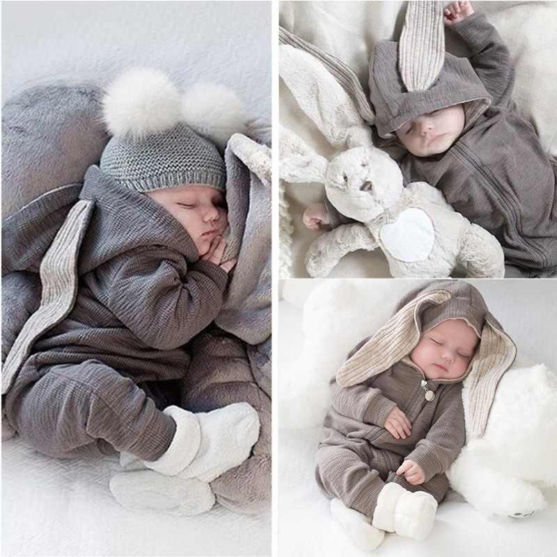 2019 Outono Inverno New Born Roupa Do Bebê Unisex Halloween Roupas Macacão Menino Crianças Traje Para A Menina Macacão Infantil 3 9 12 mês