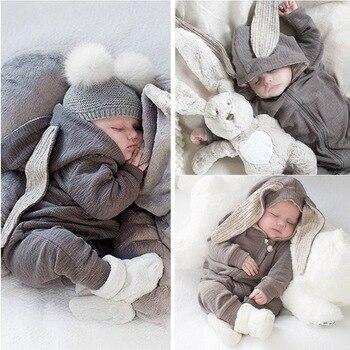 6f35d1d1b60bd 2019 automne hiver nouveau-né bébé vêtements unisexe Halloween vêtements  garçon barboteuses enfants Costume pour fille infantile combinaison 3 9 12  mois