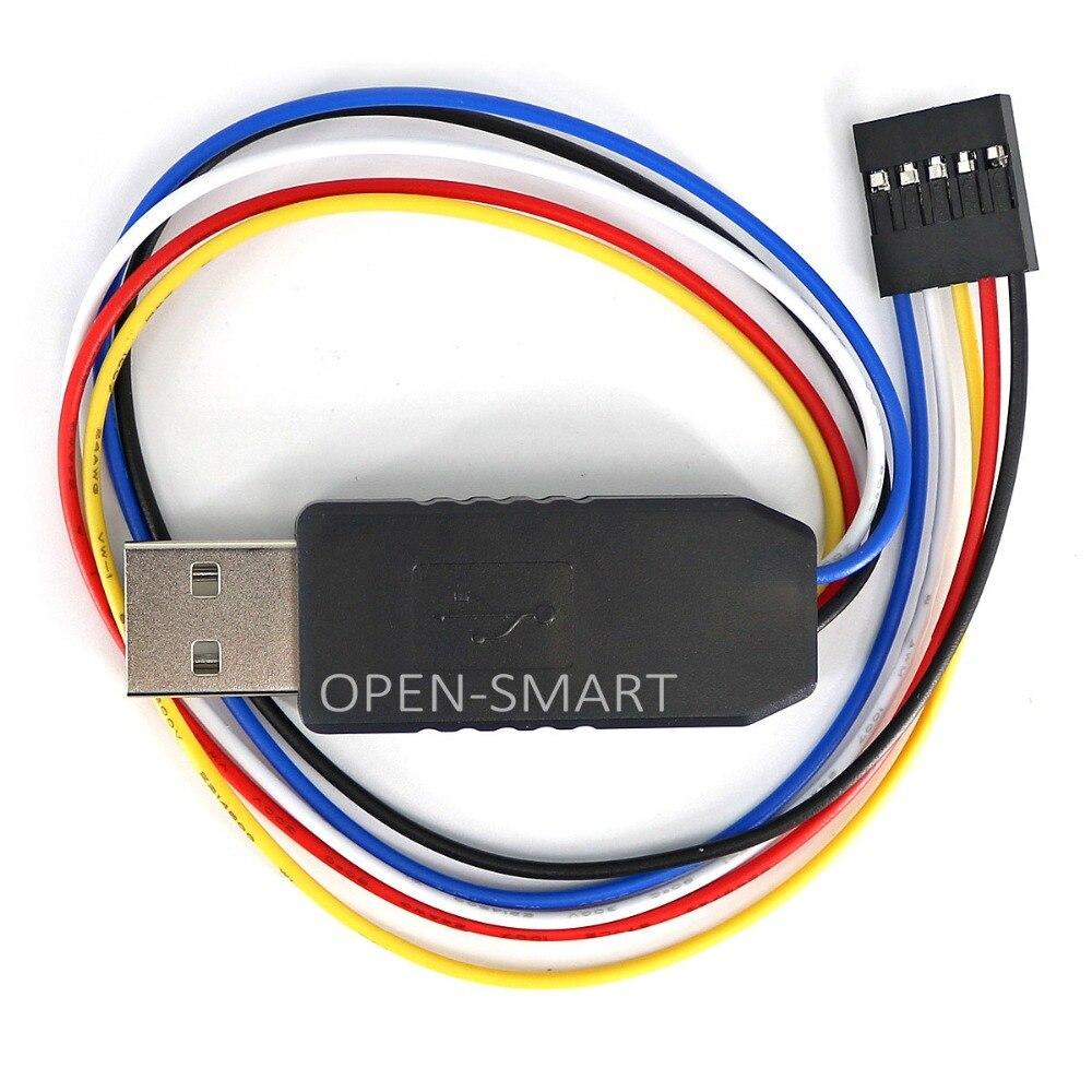 CH340G USB to TTL Converter Debugger USB to UART TTL Serial Adapter ...