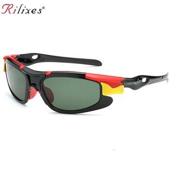 b80d3e627d RILIXES lindo bebé gafas de sol polarizadas niños niño niñas deporte gafas  TR90 Polaroid gafas de sol tonos infantil oculos 2118