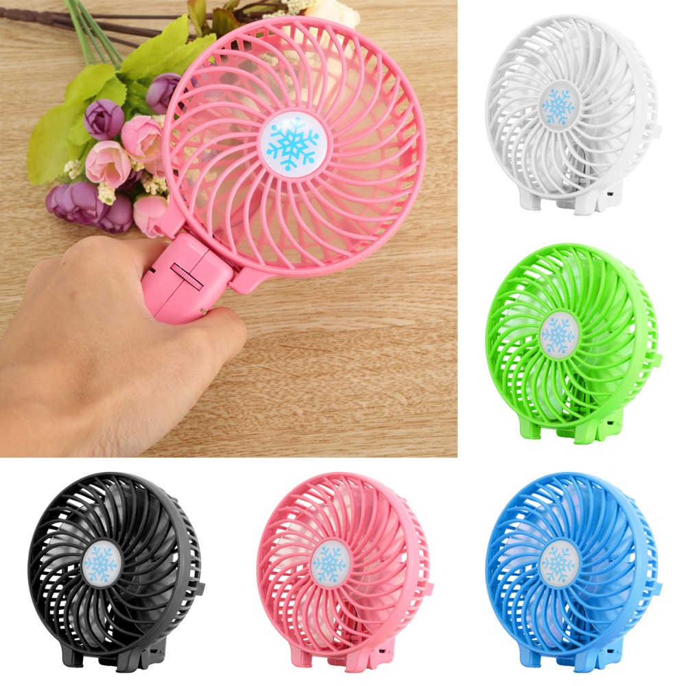 Catus Shaped White Ouniman Mini Fan with Stand for Storage USB Charger for Use in Car or with Power Bank Mini Portable Fan for Home or Office Handheld Portable Fan Rechargeable Battery