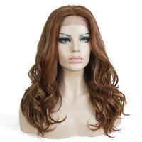 StrongBeauty синтетических канекалон Синтетические волосы на кружеве парик Волнистые Длинные прическа полный Для женщин парики