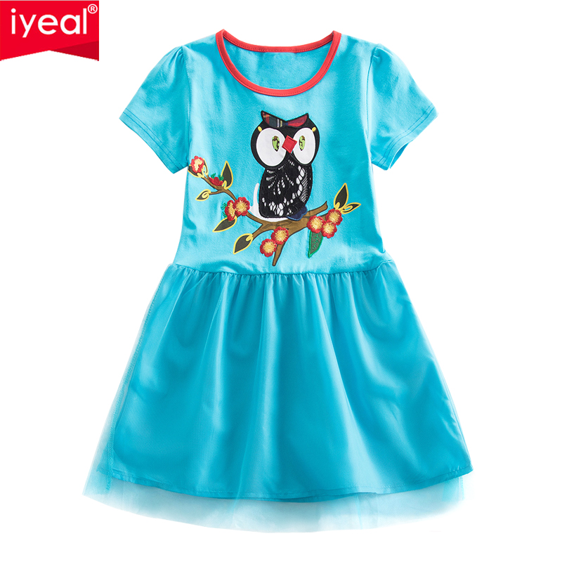 A-Line Girl Dresses Princess Costume 2018 Brand Baby Girl Dress Summer Costume for Kids Clothes Vestidos Children Birthday Dress summer gorgeous embroidered children ancient chinese costume baby boy girl new year birthday joyous red performing clothes set