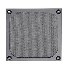 120 ミリメートル pc コンピュータファン冷却防塵ダストフィルタケースアルミグリルガード
