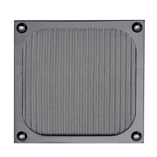 120mm PC Computer Fan Cooling Dustproof Dust Filter Case Aluminum Grill Guard(China)