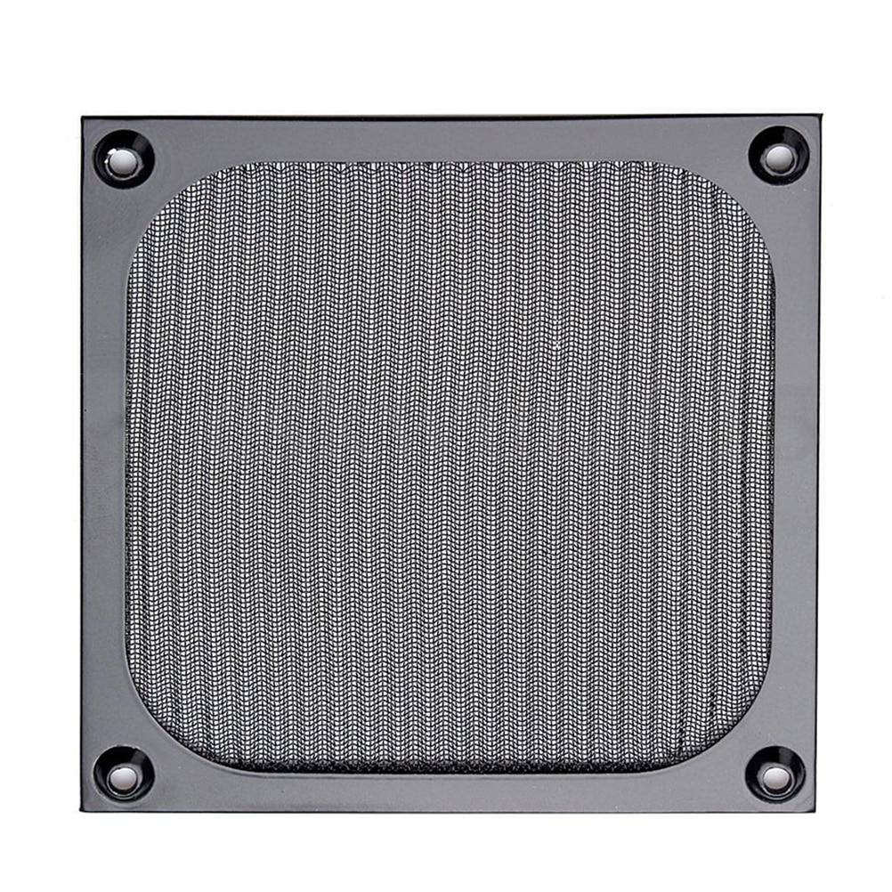 120mm PC Computer Fan Cooling Dustproof Dust Filter Case Aluminum Grill Guard