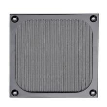 Купить с кэшбэком 120mm PC Computer Fan Cooling Dustproof Dust Filter Case Aluminum Grill Guard