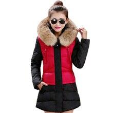 Free shipping 2017 New Winter Coat Women Cotton Jacket  Slim Thickening Warm Winter Jacket Women Parka manteau femme 68hfx