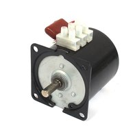 UXCELL AC 220V 10RPM 50Hz Electric Machine Gear Motor 60KTYZ w Capacitor for Gluing ,Monitor, Electgrical Curtain Hot Sale
