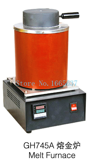 molten gold machine 220v ~2kg gold, copper,silver, aluminum, iron, steel metal, induction melting furnace,jewelry heating stove