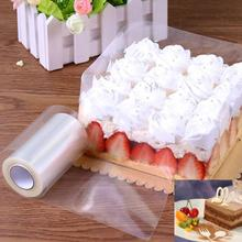 Transparent Clear Mousse Surrounding Edge Wrapping Tape for Baking Cake