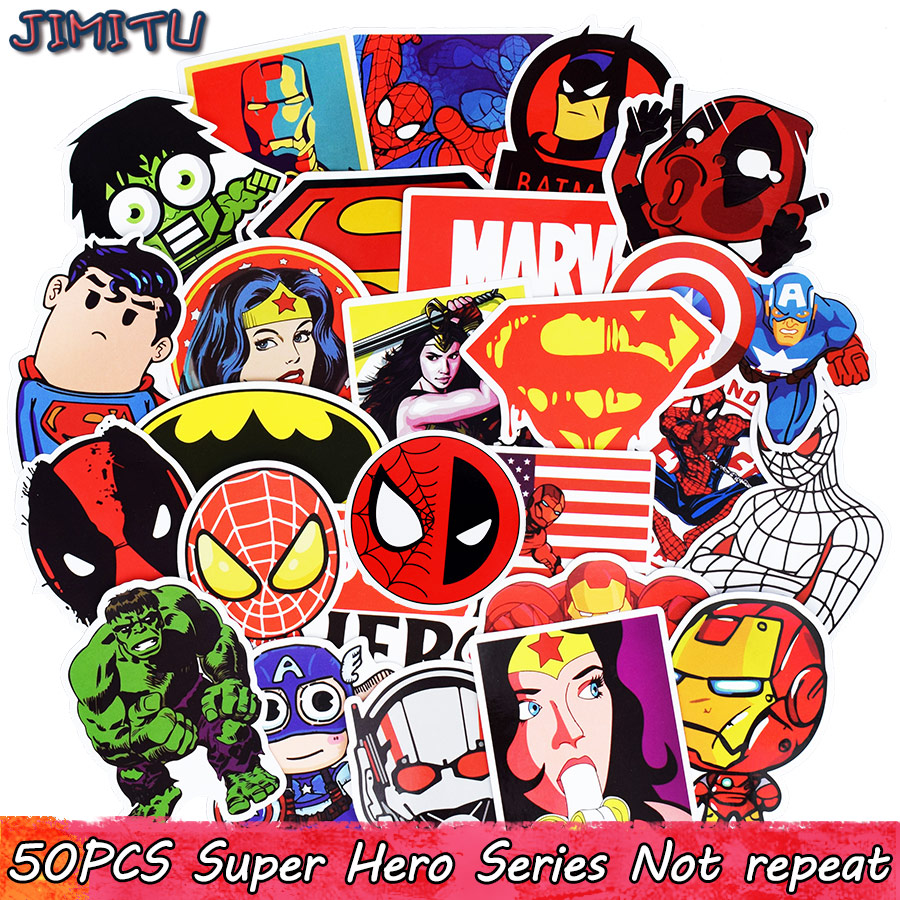 50-pcs-mixed-super-hero-stickers-funny-anime-kids-toy-sticker-for-diy-luggage-laptop-skateboard-motorcycle-bicycle-guitar-fridge