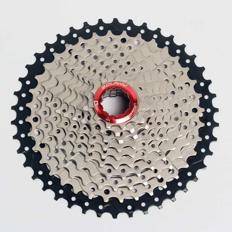 MTB <font><b>Cassette</b></font> 10 Speed <font><b>11</b></font>-42T Sprockets Freewheel Wide Ratio Mountain Bike Bicycle Accessories For Shimano Deore Slx xT image