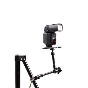 Image 2 - Uchwyt aparatu 11 Cal tarcie przegubowe magia Arm 1/4 Hot Shoe złącze do aparatu doprowadziły światła, Monitor LCD lub błysk światła