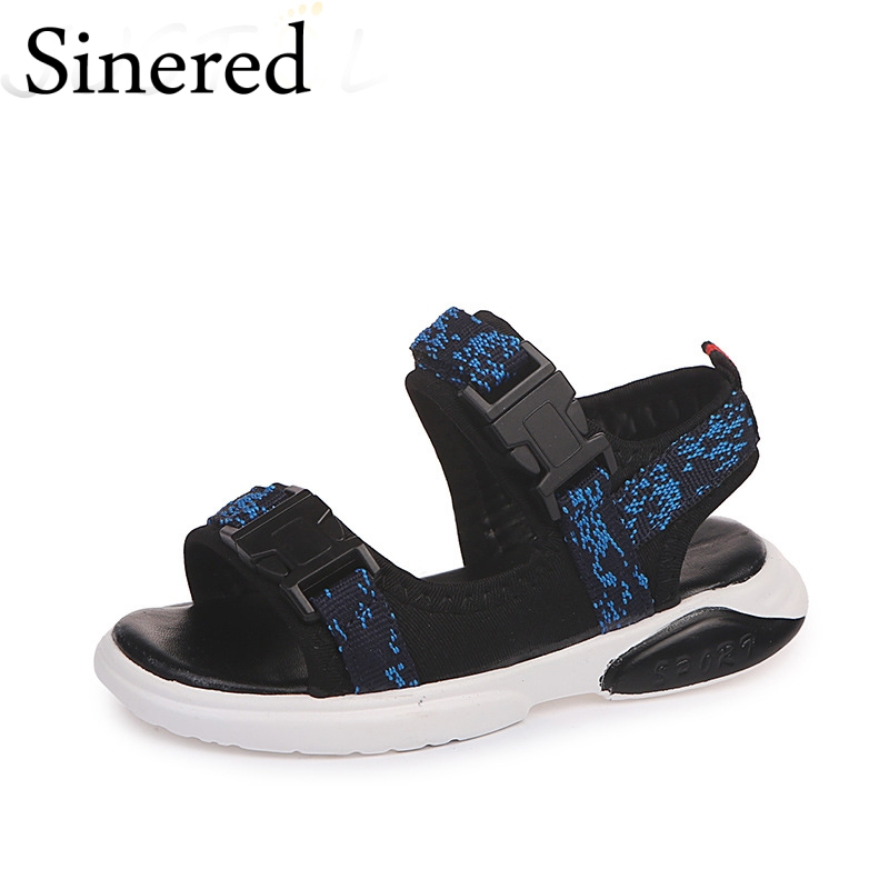 Sinered 2018 summer new childrens casual non-slip sandals kids breathable sandals boys sports comfortable beach shoes