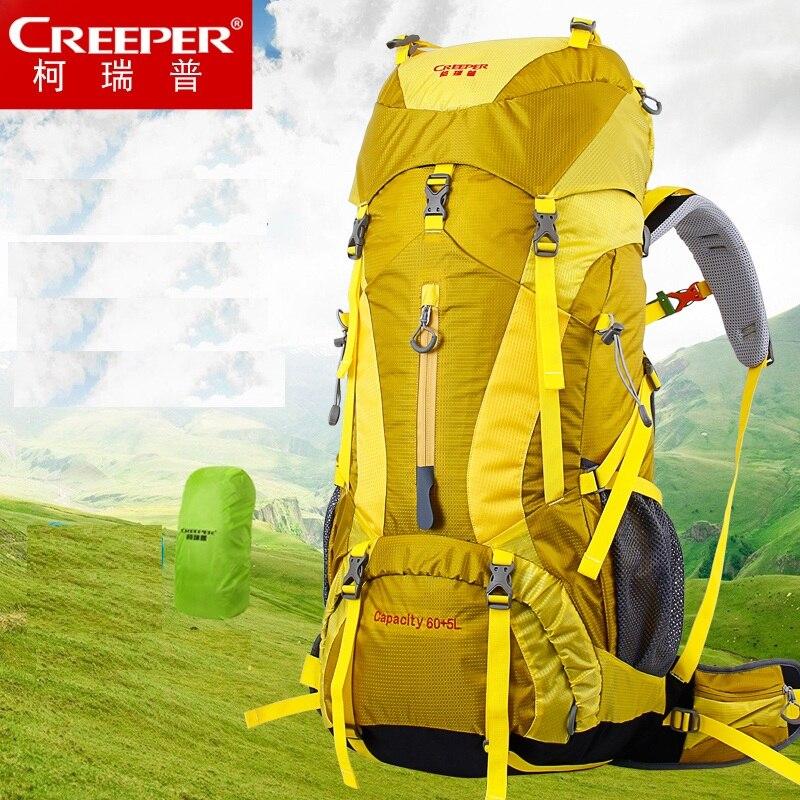 Prix pour 65L Interne Cadre Sac À Dos Trekking & Packs pour Randonnée En Plein Air Voyage Escalade Camping Alpinisme avec Housse De Pluie