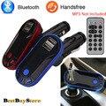 Bluetooth BT 2.1 Автомобильное Зарядное Устройство Mp3-плеер Dual USB Зарядное Устройство Fm-передатчик Andriod
