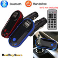 Bluetooth BT 2.1 Car Charger MP3 Player Dual USB Charger FM Transmitter Andriod