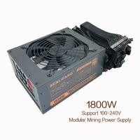Full Module Power Supply Server Mining 1800w Atx Power EMC Fit For All Kind Of Bitcoin