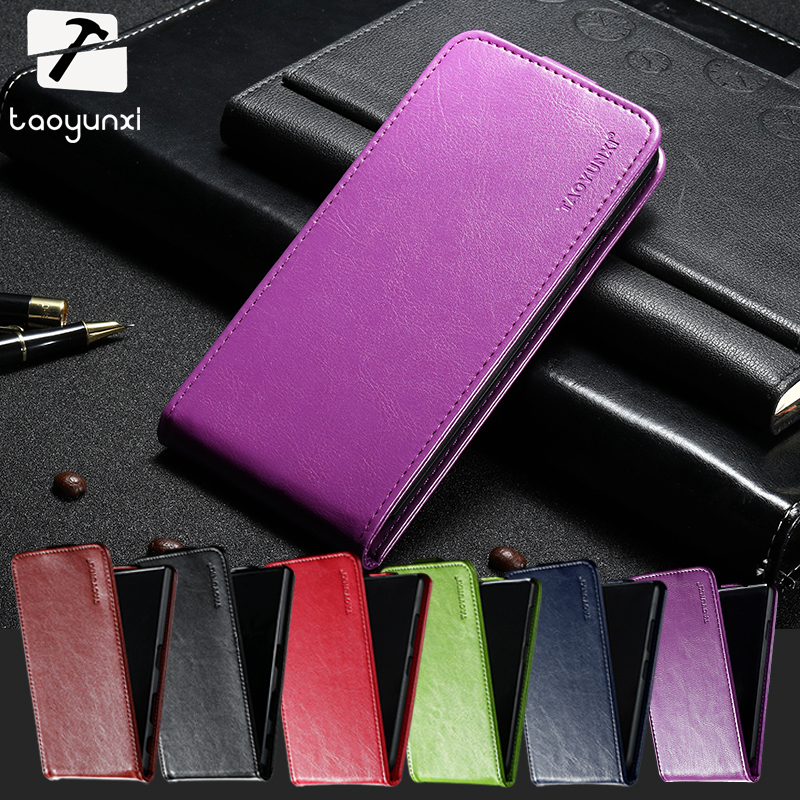 TAOYUNXI PU Leather Cases For ZTE Blade S6 Q5 Q5-T Lux Plus Q7 Covers Wallet Card Holder Housings Bags Back Covers