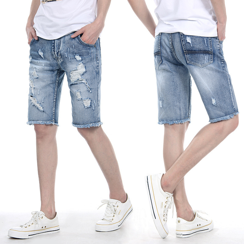 Online Get Cheap Destroyed Denim Shorts Mens -Aliexpress.com ...