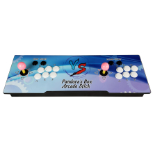 цена The Family Professional classic design arcade video game consoles with Pandora's Box 9D 2222 in 1 multi game board