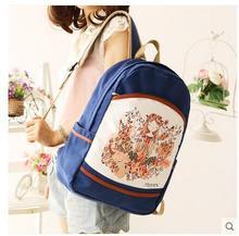 Холст сумка женская 2017 новый летний мешок студент рюкзак Корейской версии мешок компьютера досуг колледж ветер