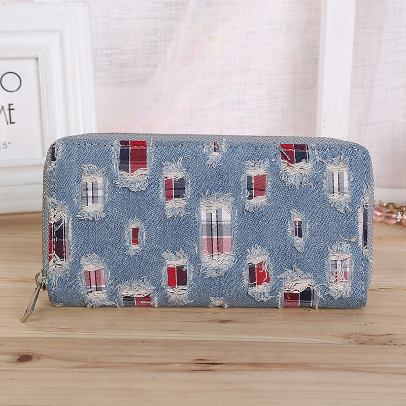 купить Vintage Rhinestone Embelllished Tassel Dull Plish Buckle Horizontal Wallet For Lady Card Holder Wallet Solid Multipurpose Wallet онлайн