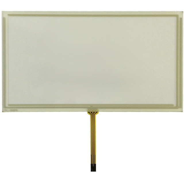 "New 6.95"" inch 167*92mm 4 Wire Resistive Touch Screen Panel Digitizer for TM070RDH01 167x93mm  Display Size 160*85mm"