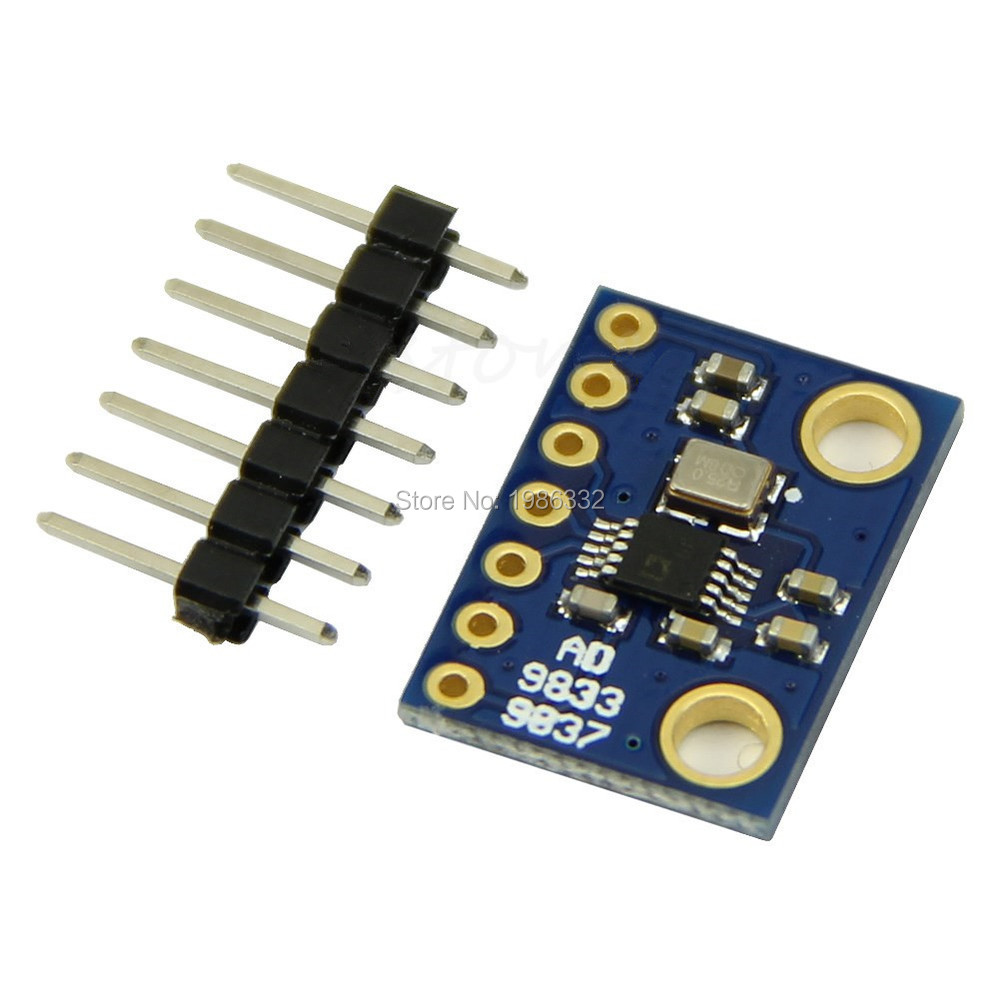 Buy Ws16 0 125 Mhz Dds Signal Generator Sine Diagram Block Get Free Image About Wiring Square Wave Ad9833 Wbrmz Reel Circuit Programmable Microprocessors Triangle From
