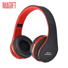 Magift Bluetooth Headphones Wireless Wired Headset with Microphone for Sports Mobile phone Laptop Free Russia Local Delivery Hot